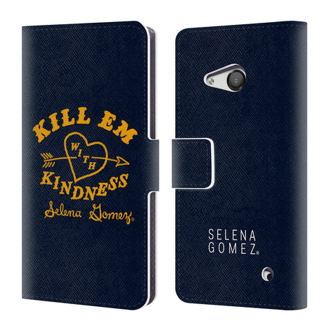 Official Selena Gomez Revival Art Leather Book Wallet Case Cover For Microsoft Lumia 550