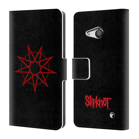 Official Slipknot Key Art Leather Book Wallet Case Cover For Microsoft Lumia 550