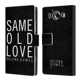 Official Selena Gomez Revival Art Leather Book Wallet Case Cover For Microsoft Lumia 950