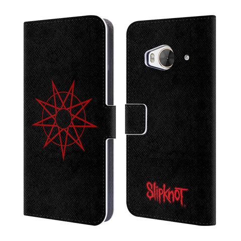 Official Slipknot Key Art Leather Book Wallet Case Cover For HTC One ME