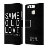 Official Selena Gomez Revival Art Leather Book Wallet Case Cover For Huawei P9