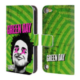 Official Green Day Key Art Leather Book Wallet Case Cover For iPod Touch 5th Gen / 6th Gen