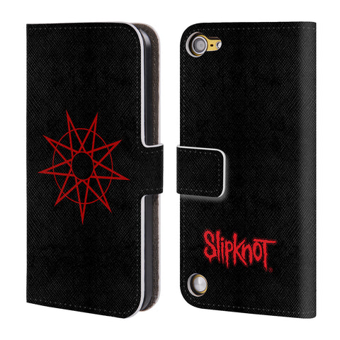 Official Slipknot Key Art Leather Book Wallet Case Cover For iPod Touch 5th Gen / 6th Gen