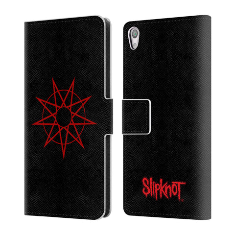 Official Slipknot Key Art Leather Book Wallet Case Cover For Sony Xperia XA / XA Dual
