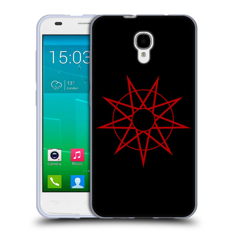Official Slipknot Key Art Soft Gel Case for Alcatel Idol 2 S