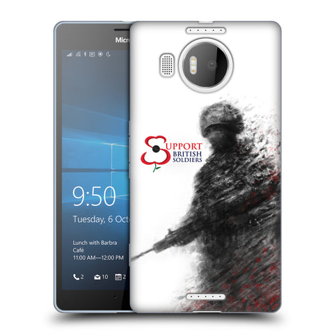 Support British Soldiers Sbs Official Support British Soldiers SBS Official Soft Gel Case for Microsoft Lumia 950 XL