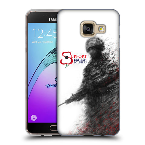 Support British Soldiers Sbs Official Support British Soldiers SBS Official Soft Gel Case for Samsung Galaxy A3 (2016)
