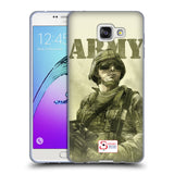 Support British Soldiers Sbs Official British Troops Soft Gel Case for Samsung Galaxy A7 (2016)