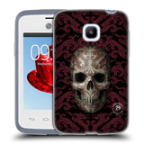 Official Anne Stokes Oriental Skull Soft Gel Case for LG L20