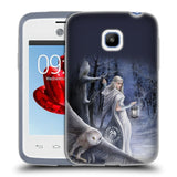 Official Anne Stokes Owls Soft Gel Case for LG L20