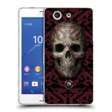 Official Anne Stokes Oriental Skull Soft Gel Case for Sony Xperia Z3 Compact / D5803