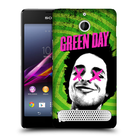 Official Green Day Key Art Soft Gel Case for Sony Xperia E1