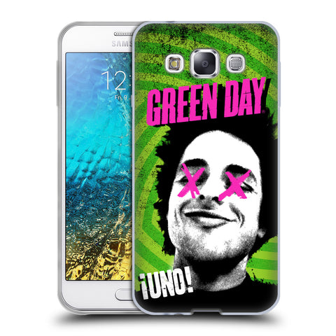Official Green Day Key Art Soft Gel Case for Samsung Galaxy E5