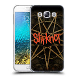Official Slipknot Key Art Soft Gel Case for Samsung Galaxy E5