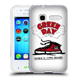 Official Green Day Key Art Soft Gel Case for Alcatel Fire C