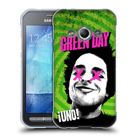 Official Green Day Key Art Soft Gel Case for Samsung Galaxy Xcover 3