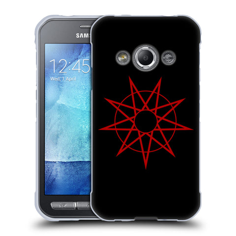 Official Slipknot Key Art Soft Gel Case for Samsung Galaxy Xcover 3