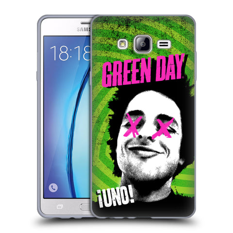 Official Green Day Key Art Soft Gel Case for Samsung Galaxy On7
