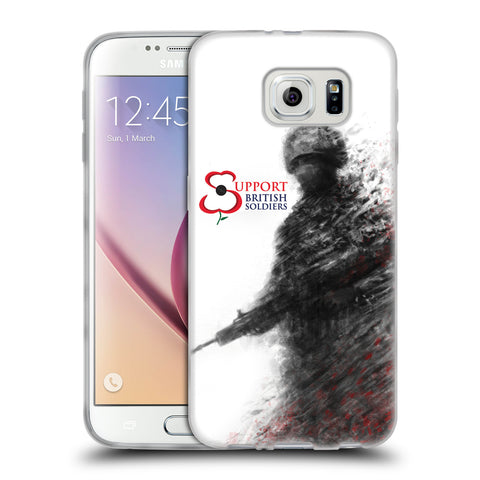 Support British Soldiers Sbs Official Support British Soldiers SBS Official Soft Gel Case for Samsung Galaxy S6