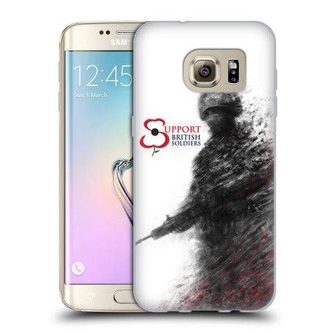 Support British Soldiers Sbs Official Support British Soldiers SBS Official Soft Gel Case for Samsung Galaxy S7 edge