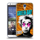 Official Green Day Key Art Soft Gel Case for HTC Desire 620 / 620 Dual Sim
