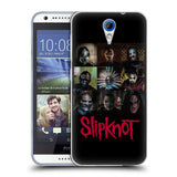 Official Slipknot Key Art Soft Gel Case for HTC Desire 620 / 620 Dual Sim