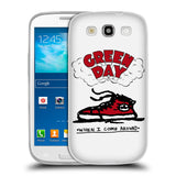 Official Green Day Key Art Soft Gel Case for Samsung Galaxy S3 III I9300