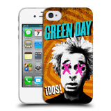 Official Green Day Key Art Soft Gel Case for Apple iPhone 4 / 4S