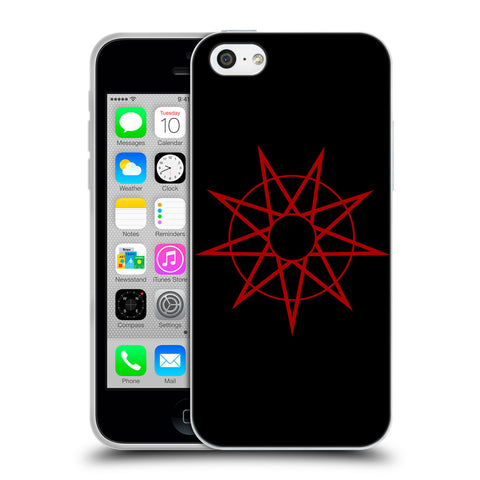 Official Slipknot Key Art Soft Gel Case for Apple iPhone 5c