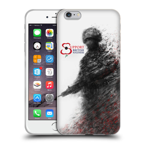 Support British Soldiers Sbs Official Support British Soldiers SBS Official Soft Gel Case for Apple iPhone 6 Plus / 6s Plus