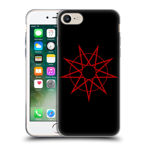 Official Slipknot Key Art Soft Gel Case for Apple iPhone 7