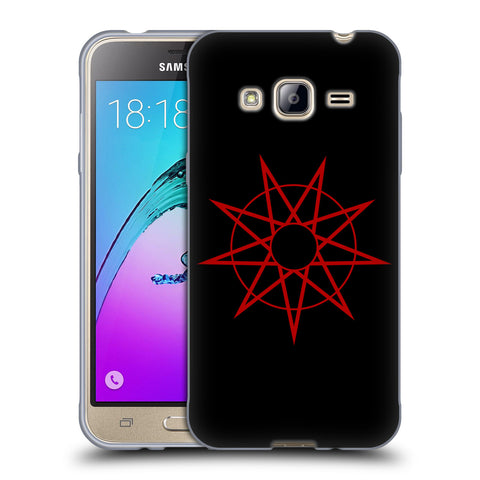 Official Slipknot Key Art Soft Gel Case for Samsung Galaxy J3