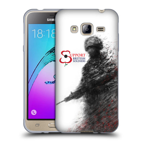 Support British Soldiers Sbs Official Support British Soldiers SBS Official Soft Gel Case for Samsung Galaxy J3