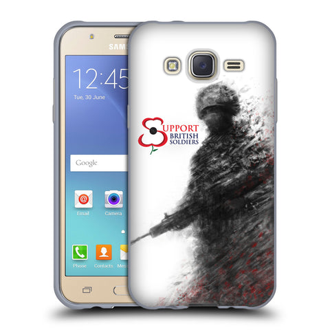 Support British Soldiers Sbs Official Support British Soldiers SBS Official Soft Gel Case for Samsung Galaxy J5 / J500