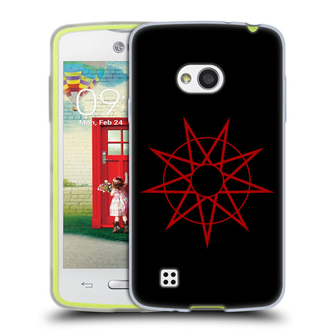 Official Slipknot Key Art Soft Gel Case for LG L50 / D213N