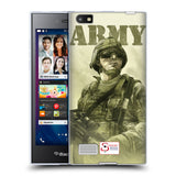 Support British Soldiers Sbs Official British Troops Soft Gel Case for BlackBerry Leap