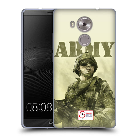 Support British Soldiers Sbs Official British Troops Soft Gel Case for Huawei Mate 8 / Ascend Mate8