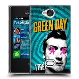 Official Green Day Key Art Soft Gel Case for Nokia Asha 503