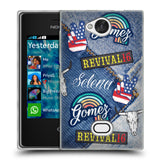 Official Selena Gomez Revival Art Soft Gel Case for Nokia Asha 503