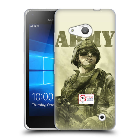 Support British Soldiers Sbs Official British Troops Soft Gel Case for Microsoft Lumia 550