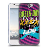 Official Green Day Key Art Soft Gel Case for HTC One A9