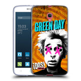 Official Green Day Key Art Soft Gel Case for Alcatel Pop 2 (5) / Dual