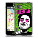 Official Green Day Key Art Soft Gel Case for LG Optimus F3 / LS720