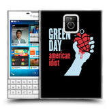 Official Green Day Key Art Soft Gel Case for BlackBerry Passport