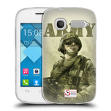 Support British Soldiers Sbs Official British Troops Soft Gel Case for Alcatel Pop C1