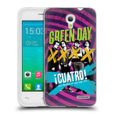 Official Green Day Key Art Soft Gel Case for Alcatel Pop S3
