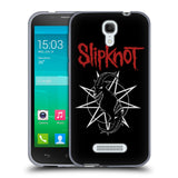 Official Slipknot Key Art Soft Gel Case for Alcatel Pop S7