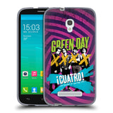 Official Green Day Key Art Soft Gel Case for Alcatel Pop S9