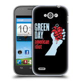 Official Green Day Key Art Soft Gel Case for ZTE Blade Q Mini