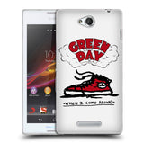 Official Green Day Key Art Soft Gel Case for Sony Xperia C / C2305